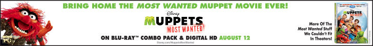 Buy the Muppets Most Wanted Blu-ray and Save 43%!