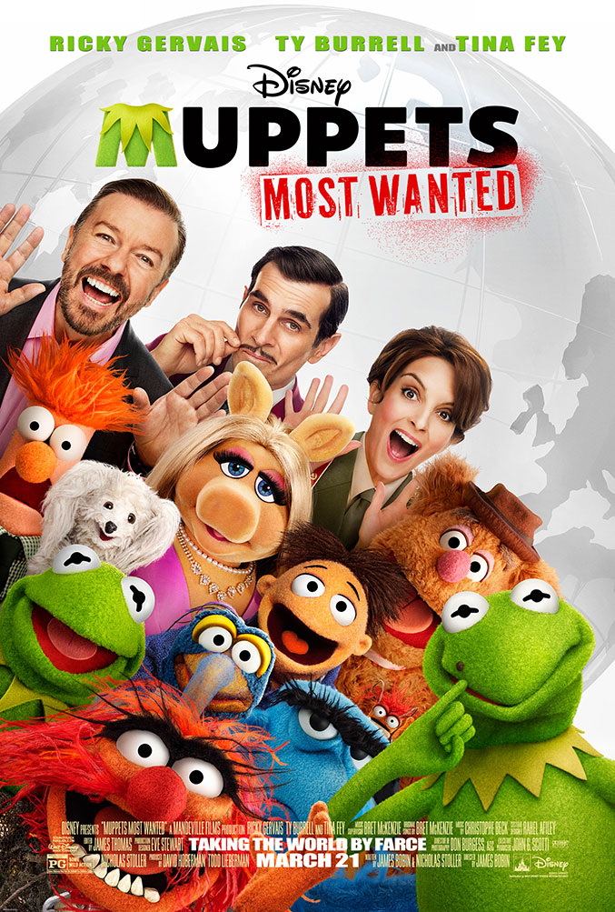 Muppets Most Wanted official movie poster released ...