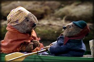 Emmet and Alice Otter