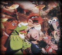 The cast of Muppets From Space