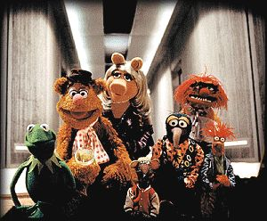 The main characters of Muppets From Space