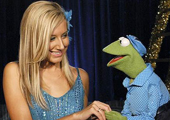 Kermit and Ashley Tisdale