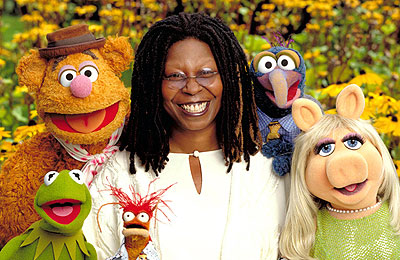 Whoopi Goldberg and The Muppets