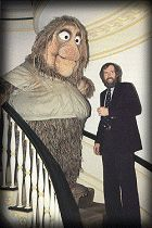 Jim Henson and Junior Gorg