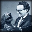 Jerry Juhl and Rowlf