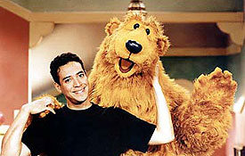 Noel MacNeal and Bear from Bear in the Big Blue House
