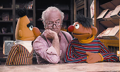 Bert, Mr. Hooper and Ernie
