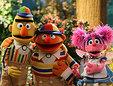 Ernie, Bert and Abby