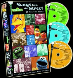 Muppet Central Articles - Songs from the Street Boxed Set