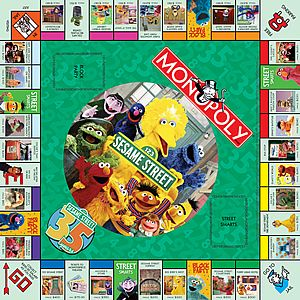 Muppet Central Articles Reviews Sesame Monopoly The Collectors