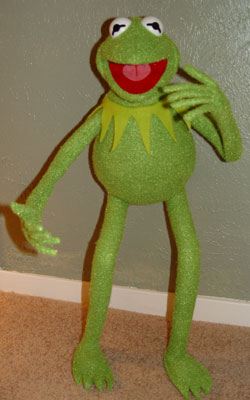 Muppet Central Articles Reviews Authentic Kermit The
