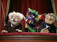 Muppet central guides the muppet show vincent price for Balcony muppets